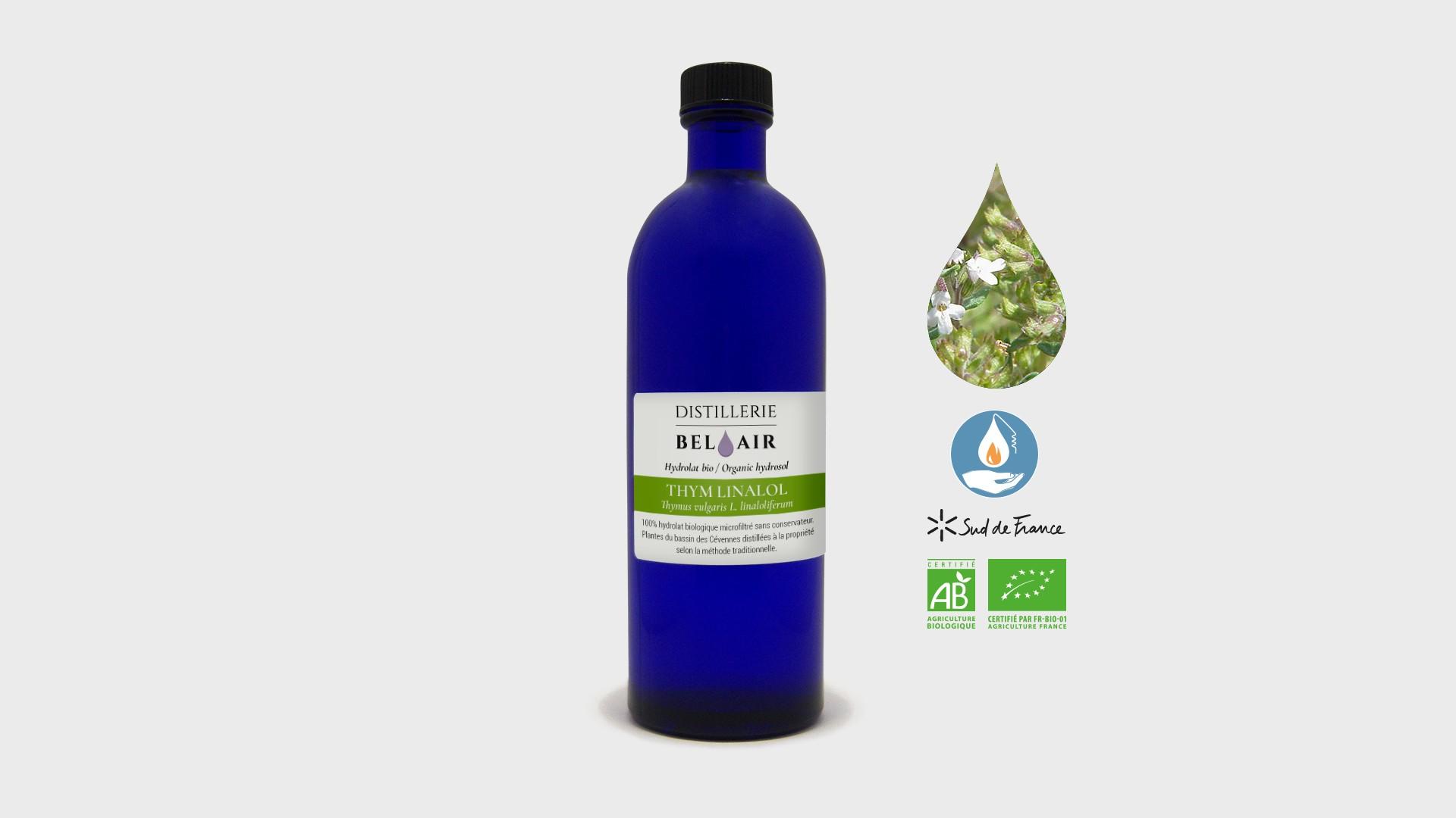 Thym linalol – Hydrolat bio 200ml