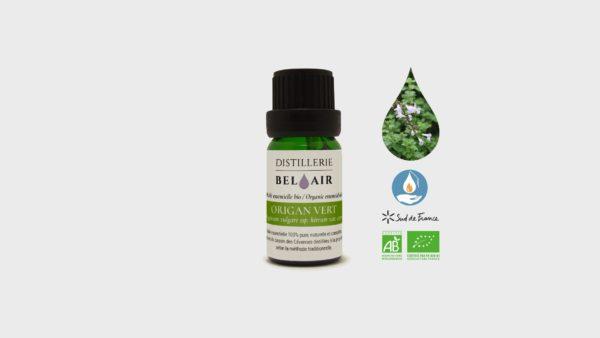Huile Essentielle d'Origan Vert Bio