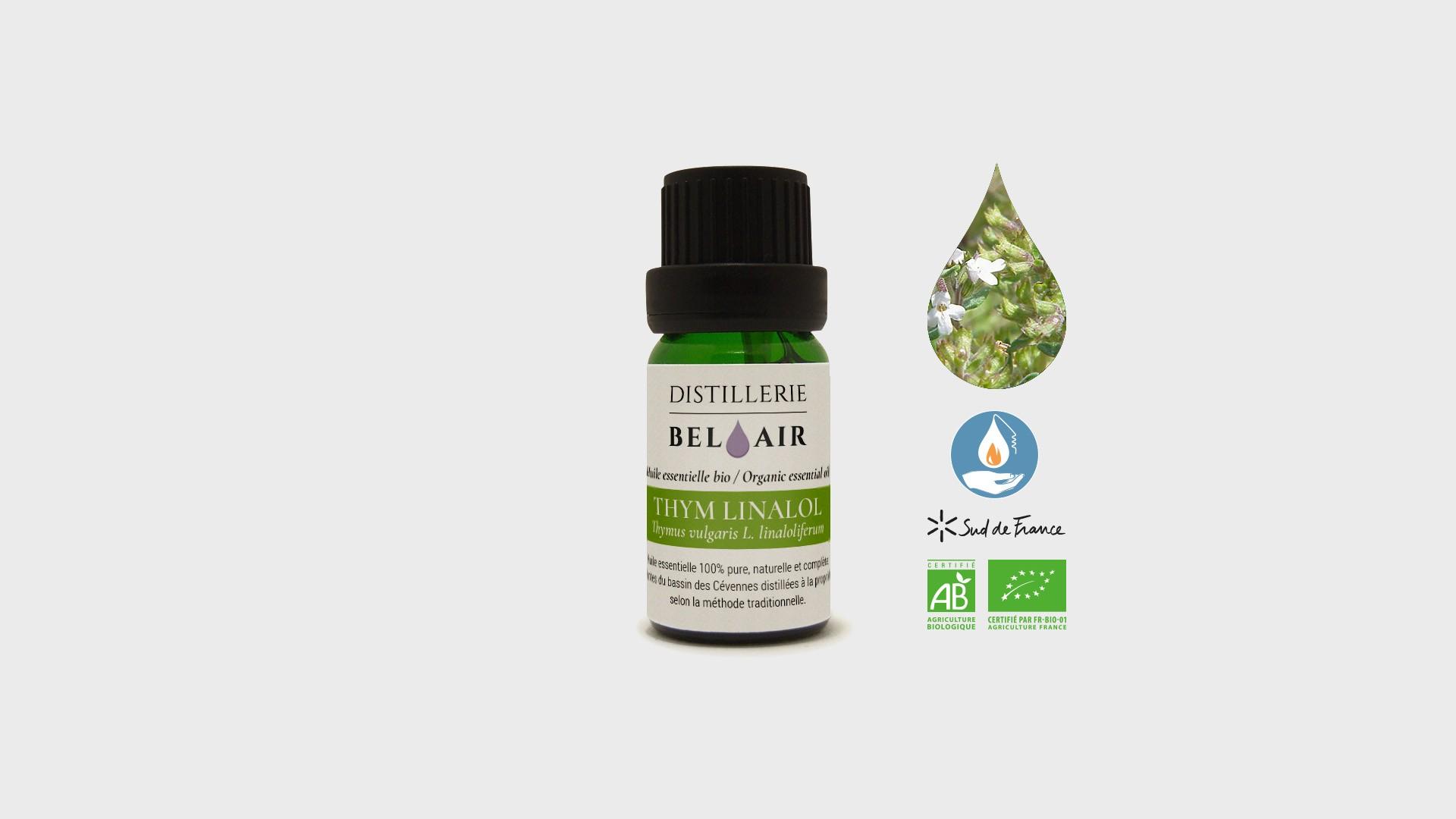 Thym linalol – Huile essentielle Bio