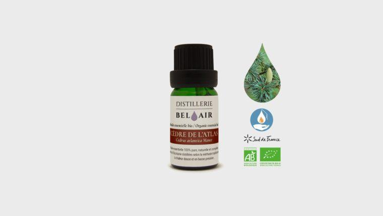HE Cèdre de l'atlas - huile essentielle bio