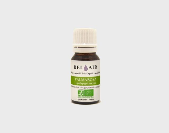 Huile essentielle bio de Palmarosa - 10 ml