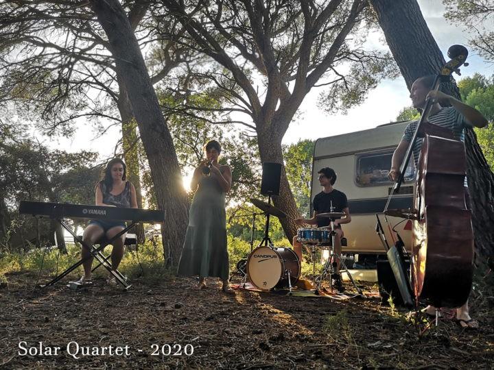 Une première à la Distillerie Bel Air : LA DISTI JAZZ du Jeudi avec Solar Quartet