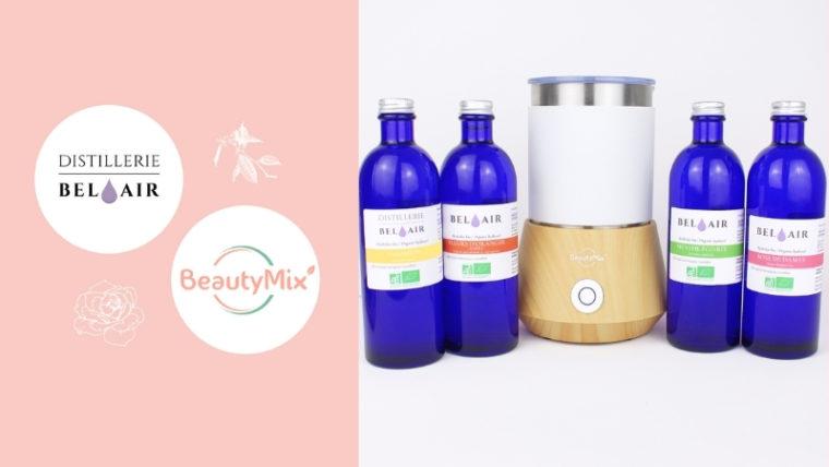 Partenariat Distillerie Bel Air et Beautymix