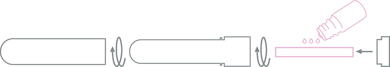 Inalia : Diffuseur Inhalateur ROSE