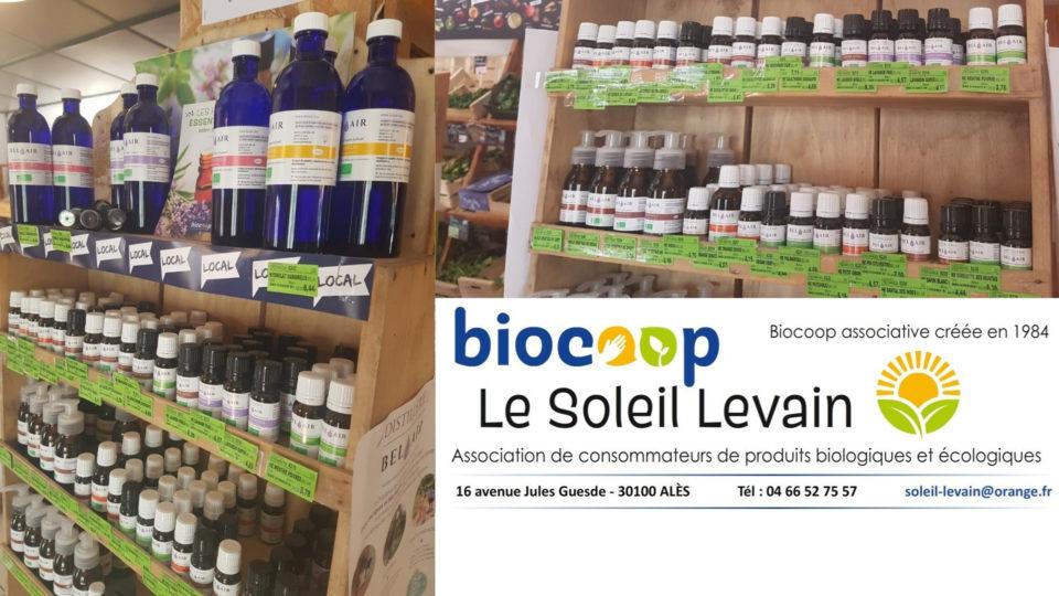 La boutique partenaire : Le Soleil Levain – Biocoop Alès (30)