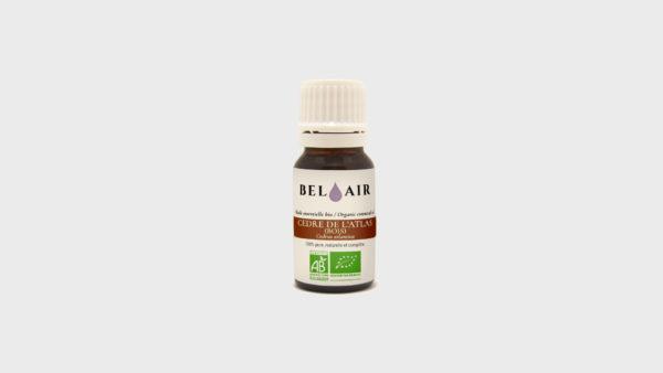 Huile essentielle de Cédre De L'Atlas Bois bio, selection Bel Air, 10ml