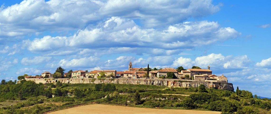 Village de Lussan