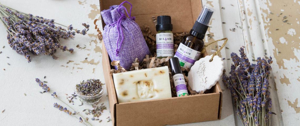 Coffrets : offrez des huiles essentielles bio de haute qualité en cadeaux