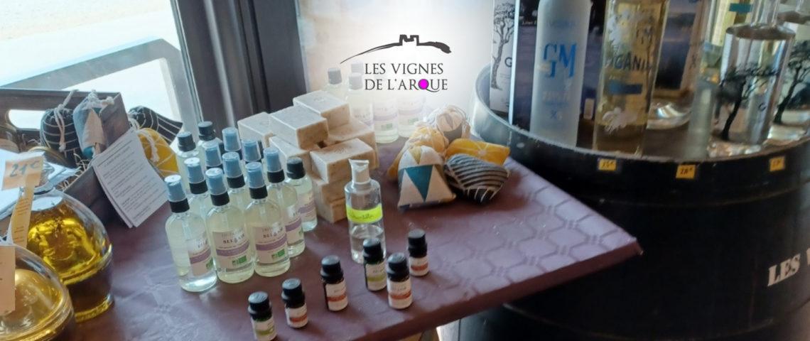 Boutique partenaire :  Les Vignes de l'Arque – Baron (30)