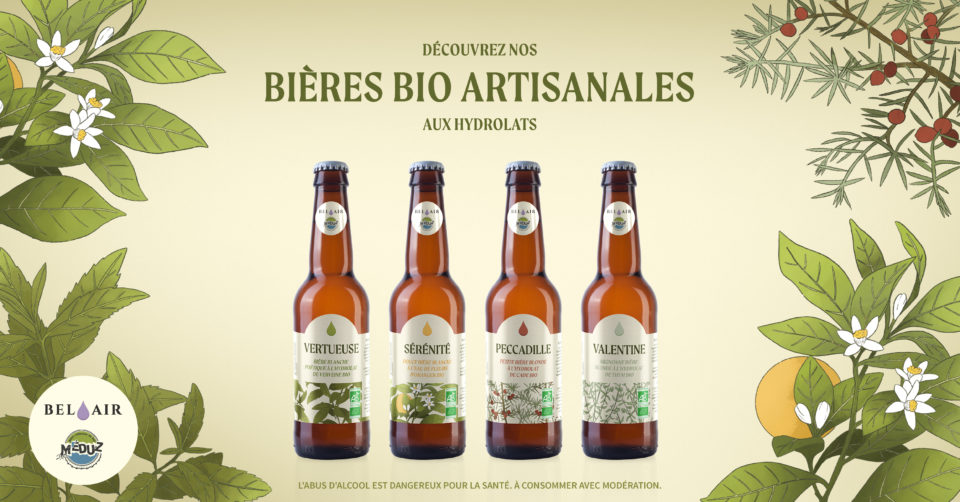 Soif de garrigue? 💜 Nos bières aromatiques sont en prévente !